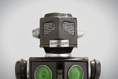 Retro tin robot toy Royalty Free Stock Images