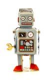 Retro Tin Robot Stock Photo