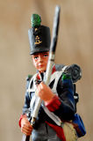 Retro tin soldier Stock Images