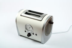 Retro toaster. Isolated on white background Stock Image