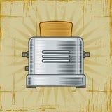 Retro Toaster royalty free illustration