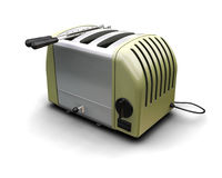 Retro toaster Royalty Free Stock Image