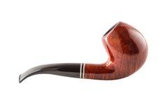 Retro tobacco pipe on a white background Royalty Free Stock Photo