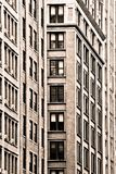 New York City building facades Stock Photos