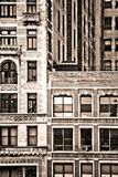 New York City building facades Stock Photo