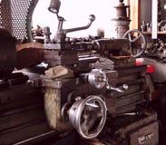 Retro tools. Turning and milling machine Stock Photo