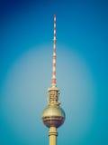 Retro torre di sguardo TV, Berlino Fotografia Stock