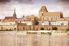 Retro Torun Royalty Free Stock Images
