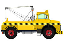 Retro tow truck Stock Images