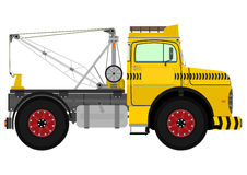 Retro tow truck Stock Photography