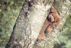 Retro toy bear Royalty Free Stock Photo