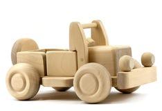 Retro toy car. Isolated on white background Royalty Free Stock Photo