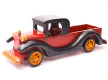 Retro toy - car stock images