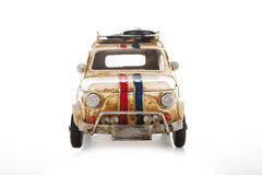 Retro toy car Royalty Free Stock Images