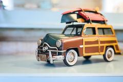 Retro Toy Car Stock Photography