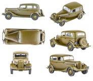 Retro toy cars Royalty Free Stock Photo