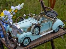 Retro toy model vintage car Royalty Free Stock Image