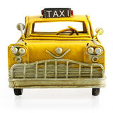 Retro toy taxi Stock Photo