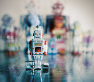 Retro toys Stock Photography