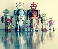 Retro toys Stock Photo