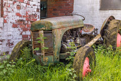 Retro tractor Royalty Free Stock Photos