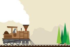 Retro train Stock Images