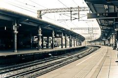 Retro Train Station, Taiwan Stock Image