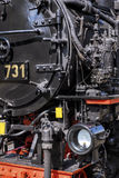Retro train Royalty Free Stock Image