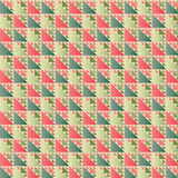 Retro Traingle Pattern Vector Illustration Royalty Free Stock Images