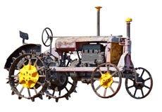 retro traktor Royaltyfri Bild