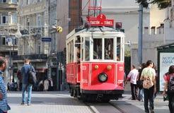 Retro tram Stock Foto