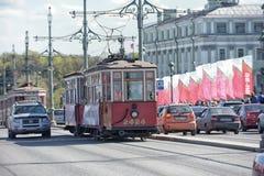 Retro Tram Stock Photos