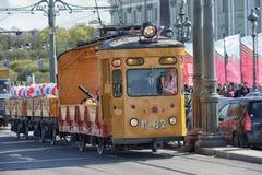 Retro Tram Stock Photography