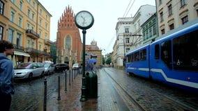Retro tramwaj w Krakow zbiory