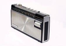 retro transistor för radio Arkivbilder