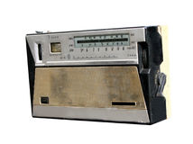 retro transistortappning för radio fotografering för bildbyråer
