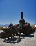 Retro transport of Death Valley Royalty Free Stock Photography