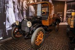 Retro transport exhibit in the Museum complex of military and civil engineering in the city of Verkhnyaya Pyshma, Yekaterinburg Ru royalty free stock photos
