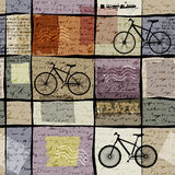 Retro travel pattern with inscriptions Royalty Free Stock Images