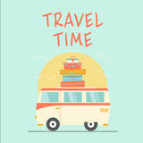 Retro travel time Royalty Free Stock Photography