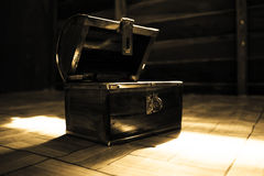 Retro Treasure Chest Royalty Free Stock Photo
