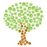 Retro Tree Royalty Free Stock Image