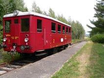 Retro trein Stock Afbeelding