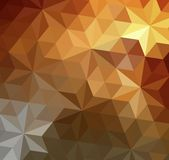 Retro triangle background Royalty Free Stock Photos