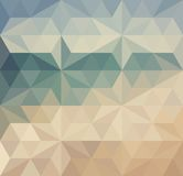 Retro triangle background Royalty Free Stock Image