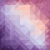 Retro triangle background Stock Image