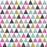 Retro triangle background. Stock Photos