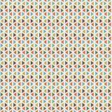 Retro Triangle Pattern Stock Image