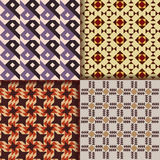 Retro triangle patterns background Royalty Free Stock Images
