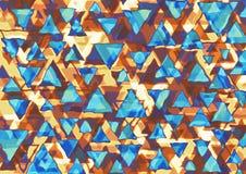 Retro triangoli Immagine Stock Libera da Diritti